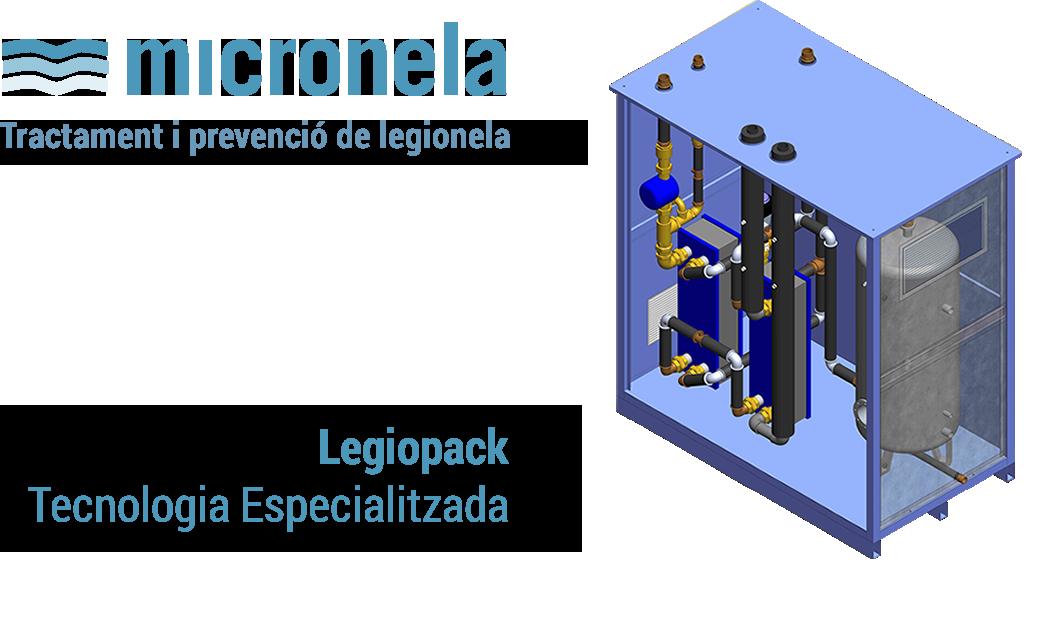 Micronela - Tractament i prevenció de legionela